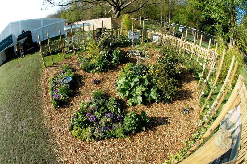 Garden Ideas For Small Gardens. The first permaculture garden